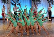 Выступление ансамбля народного танца имени Игоря Моисеева