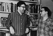 Писатели Аркадий и Борис Стругацкие. 1965 год
