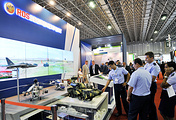 Стенд Рособоронэкспорта на Международной выставке авиационных и оборонных систем LAAD 2017