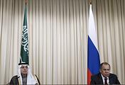 Министр иностранных дел Саудовской Аравии Адель аль-Джубейр и министр иностранных дел России Сергей Лавров, Москва, 26 апреля