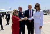 Сара Нетаньяху, Биньямин Нетаньяху, Дональд Трамп, Меланья Трамп