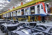 Производство новейших вагонов «Москва» на заводе «Метровагонмаш»
