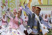 Праздник Сабантуй в Казани, 2016 год