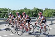 Соревнования по велоспорту в рамках Спартакиады