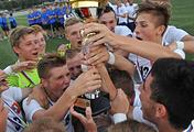 Футболисты сборной Москвы