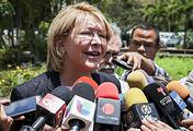 Экс-генпрокурор Венесуэлы Луиса Ортега Диас