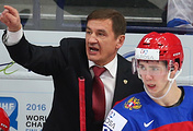Главный тренер молодежной сборной России по хоккею Валерий Брагин