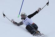 Горнолыжник-паралимпиец на Играх-2014 в Сочи