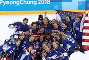Хоккеистки сборной США