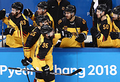 Хоккеисты сборной Германии
