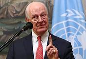 Спецпосланник генсекретаря ООН по Сирии Стаффан де Мистура