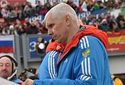 Старший тренер сборной России по бобслею Сергей Журкин