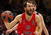 Баскетболист ЦСКА Серхио Родригес