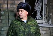 Представитель народной милиции ЛНР Андрей Марочко
