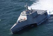 Боевой корабль прибрежной зоны ВМС США Tulsa