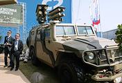 """Бронеавтомобиль """"Тигр"""" с противотанковым ракетным комплексом """"Корнет-Э"""""""