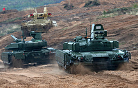 The main stage of Zapad-2017 military exercises, at Luzhsky range near St. Petersburg