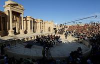 Концерт оркестра Мариинского театра в Пальмире, Сирия, 6 мая