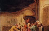 Крестьяне, играющие в карты в таверне Автор: Бартоломеус Моленар