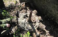 Обломки Ли-2 времен ВОВ