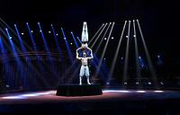 """Дуэт """"Баланс"""" (Румыния) во время церемонии открытия фестиваля"""