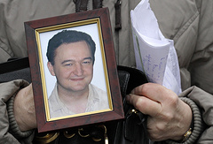 A portrait of Sergey Magnitsky