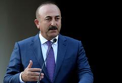 Turkey's Foreign Minister Mevlut Cavusoglu