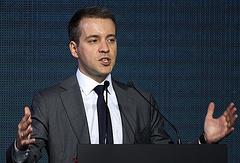 Russian Minister of Communications and Mass Media Nikolay Nikiforov
