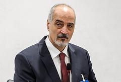 Syria's UN envoy Bashar Ja'afari