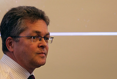 Head of the ESA Permanent Mission in Moscow Rene Pischel