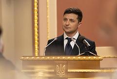 Ukraine's President Vladimir Zelensky