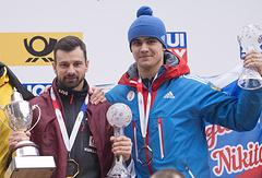 Никита Трегубов (справа)