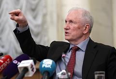 Временно исполняющий обязанности президента РАН Валерий Козлов