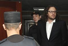 Бизнесмен Сергей Полонский (справа)