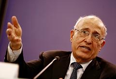Советник президента Палестины по внешнеполитическим вопросам и международным отношениям Набиль Шаат