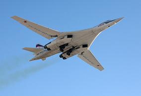 Tupolev Tu-160 bomber