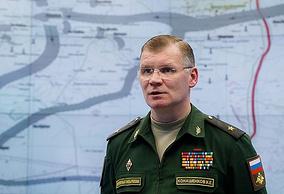 Russian Defense Ministry's official spokesman, Maj. Gen. Igor Konashenkov