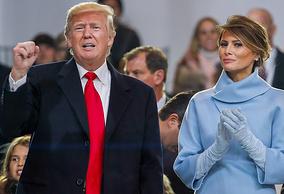 Дональд и Меланья Трамп
