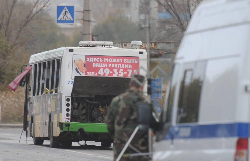 Terrorist act in Volgograd. Suicide bomber exploded an IED on a crowded bus at 2pm.