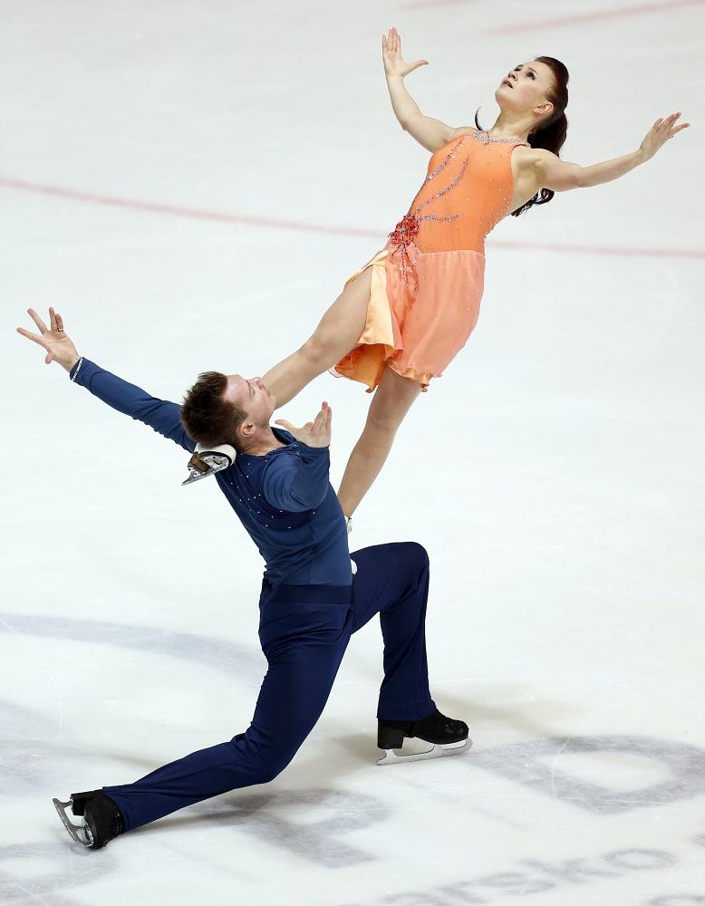 Yuliya Zlobina, who competes for Azerbaidzhan in Sochi, used to represent Russia