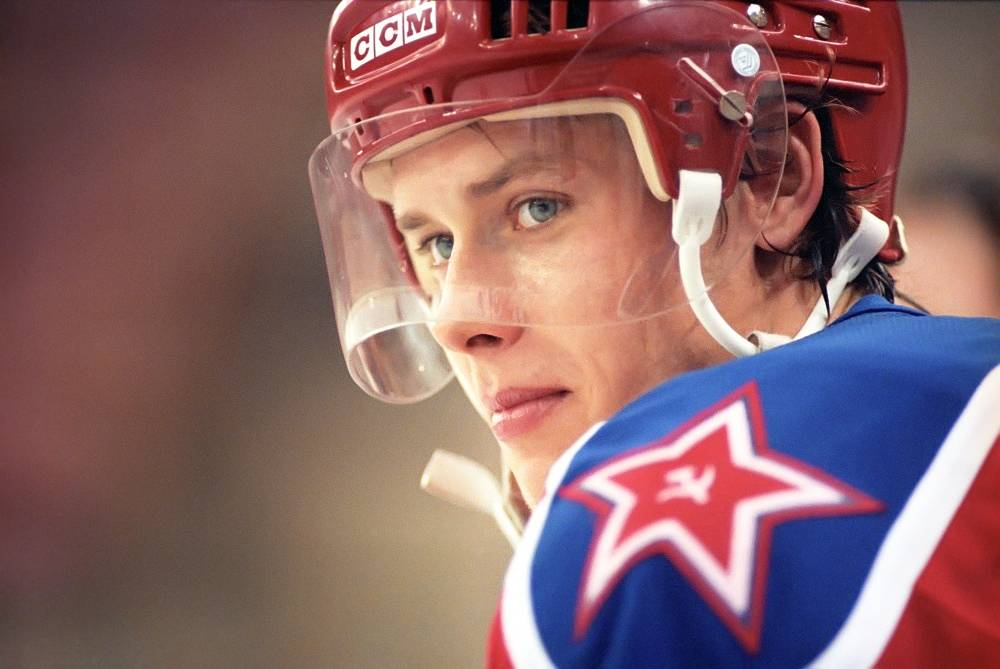 "Russian ice hockey player Pavel Bure called ""The Russian Rocket"" for his speed, retired in 2003 following a knee injury"