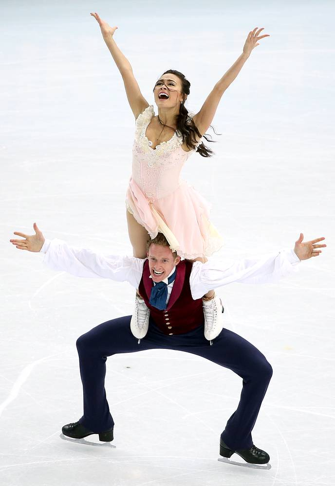 Madison Chock and Evan Bates of USA