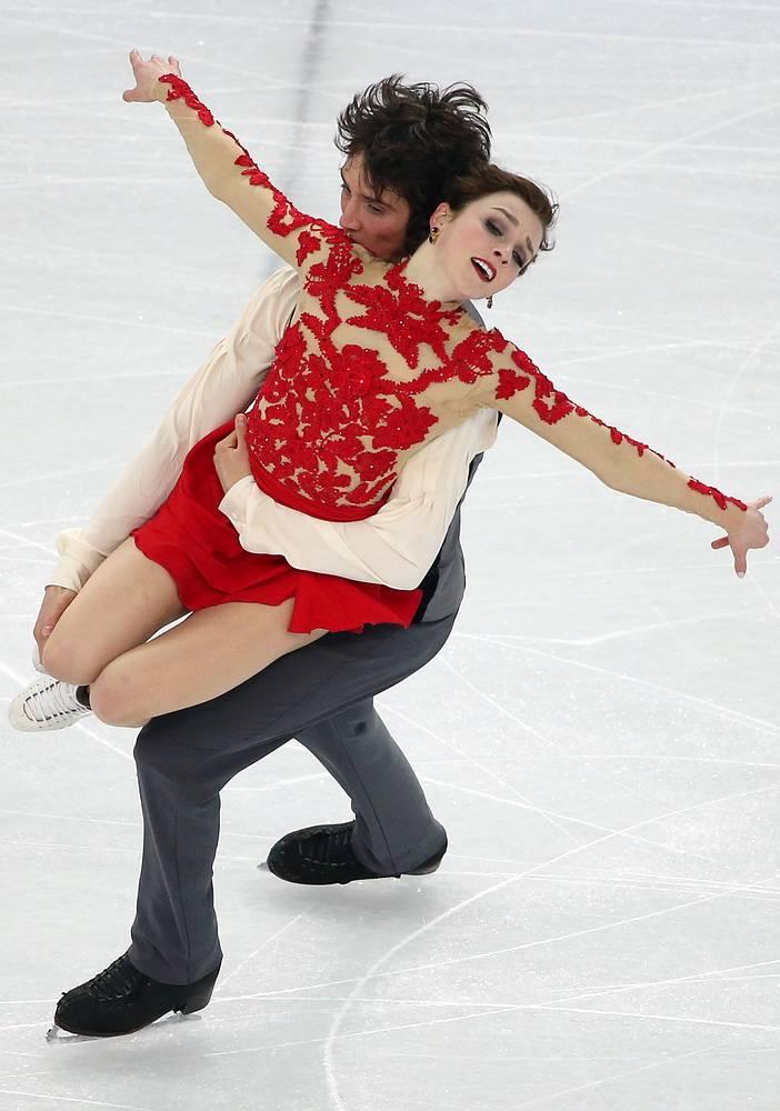 Alexandra Paul and Mitchell Islam of Canada