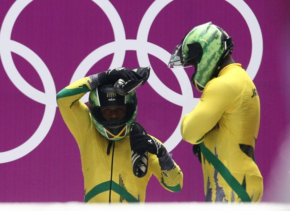 To take part in the Olympics, Jamaican bobsledders Winston Watts and Marvin Dixon had to gather $120,000 over the Internet. Jamaican team is represented at the Games after a twelve years' break