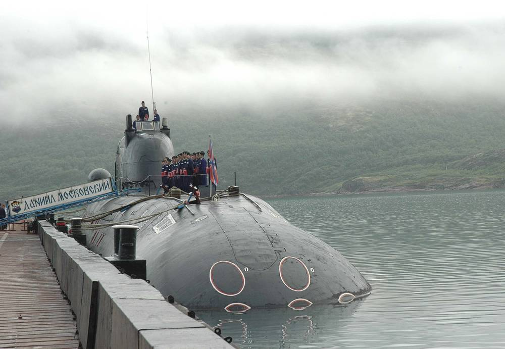 St. Daniil Moskovsky submarine (Project 671RTM Schuka)