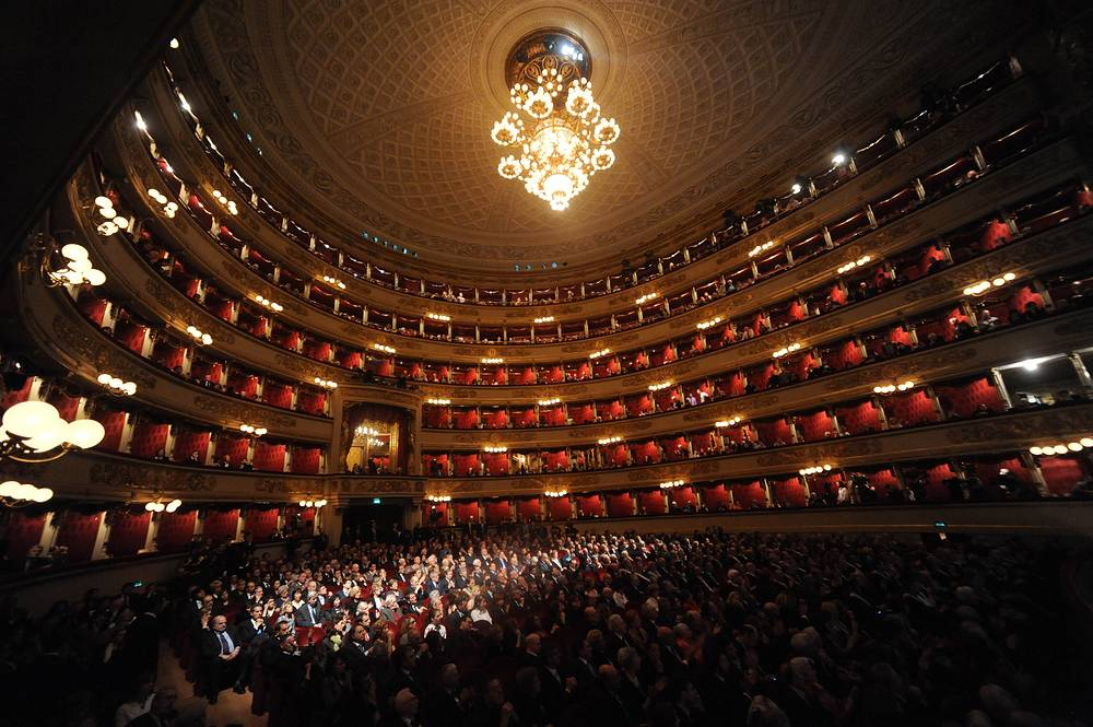 The theater was inaugurated on 3 August 1778, after a fire destroyed the previous one