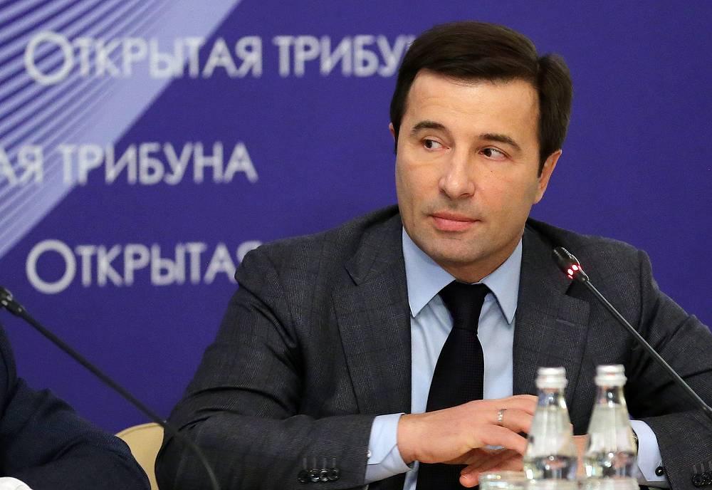 Former deputy speaker of the Verkhovna Rada Valery Konovalyuk