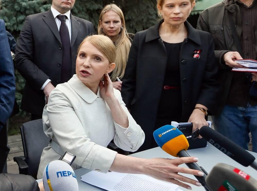 Batkivshchyna leader Yulia Tymoshenko