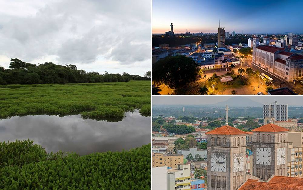 The capital city of the Brazilian state of Mato Grosso, Cuiaba was founded in 1719 and has a population of 570,000 people. Cuiaba is the second smallest of the hosting cities. Not far from Cuiaba lies one of a huge swamp area called  Pantanal