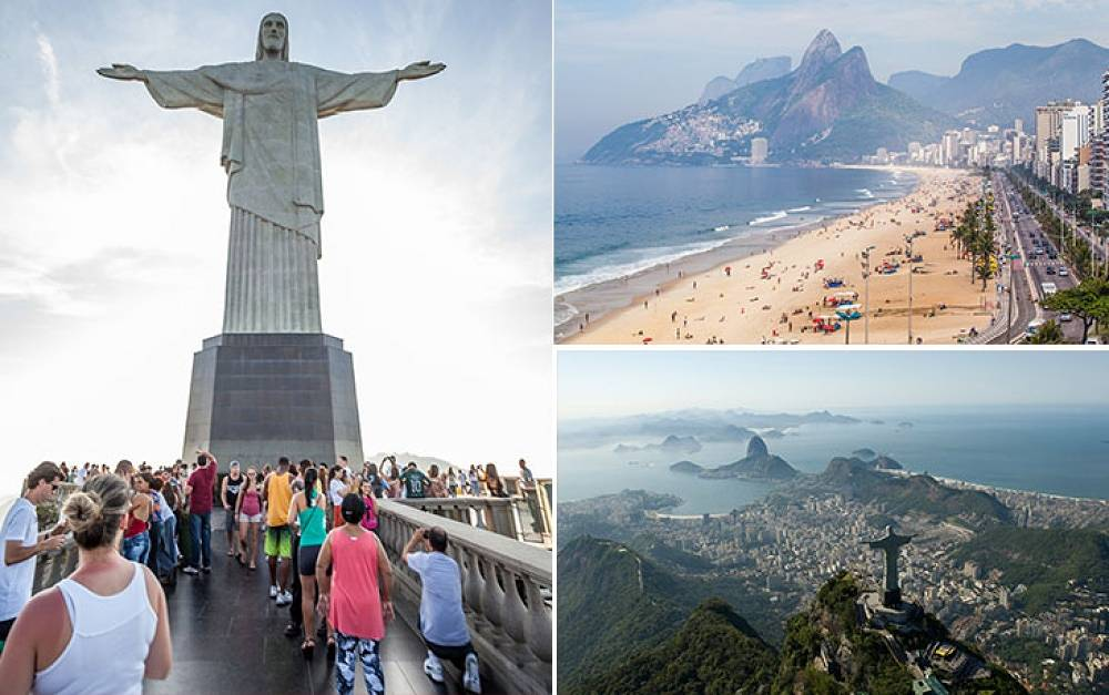 Rio de Janeiro is one of the most famous cities in the world. The name of the city can be traslated as 'January river'